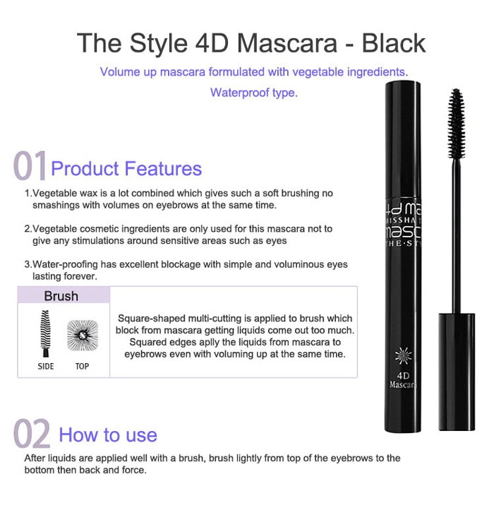 MISSHA The Style 4D Mascara (7g)