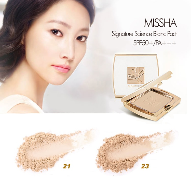 MISSHA Signature Science Blanc Pact (SPF50+·PA+++) - 2 Colors