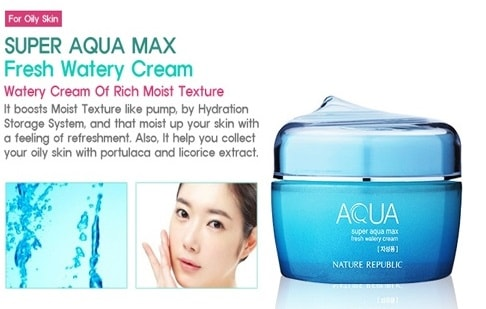 Nature Republic Super Aqua Max Fresh Watery Cream [Intelligent] 80ml