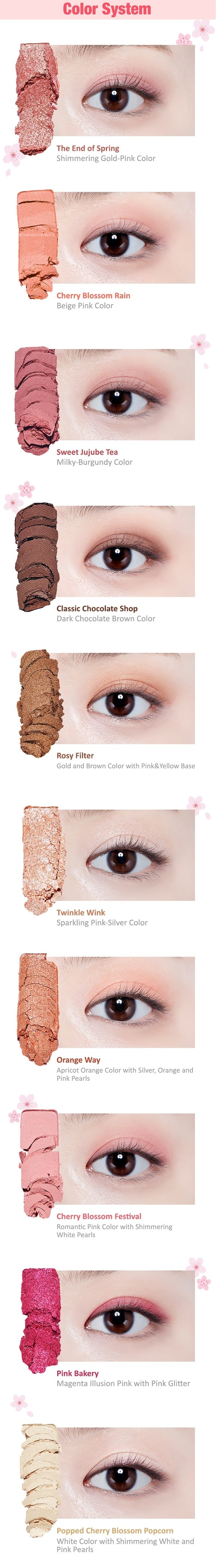 Buy ETUDE HOUSE Play Color Eyes #Cherry Blossom