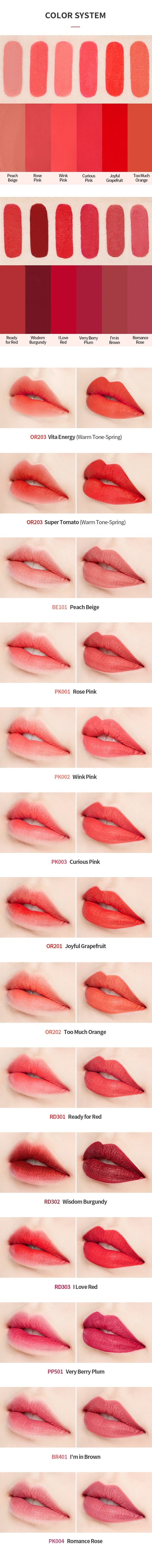 ETUDE HOUSE Matte Chic Lip Lacquer [OR201]
