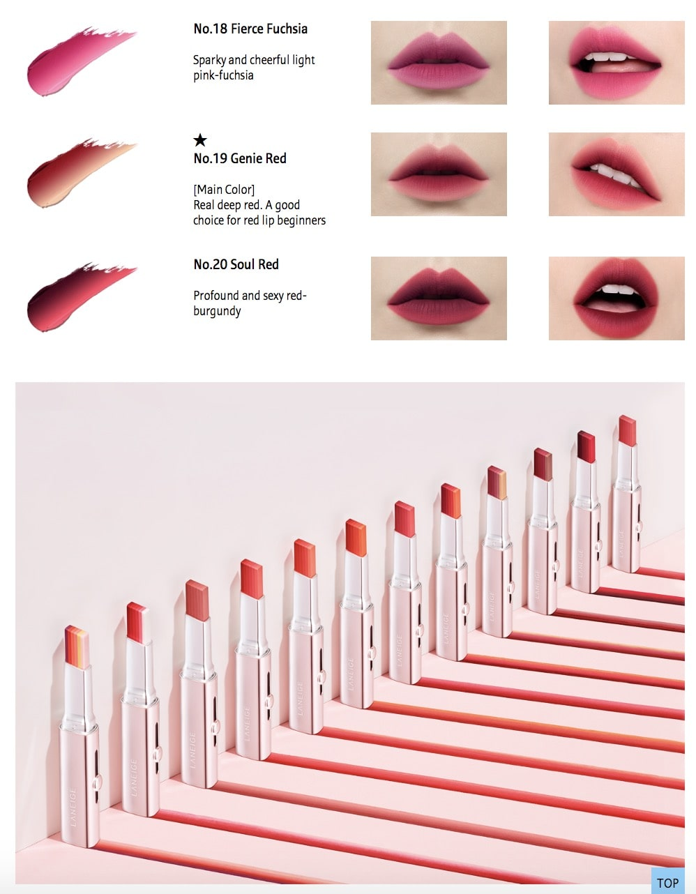 LANEIGE Layering Lip Bar [No. 1 Layeringfantasy]