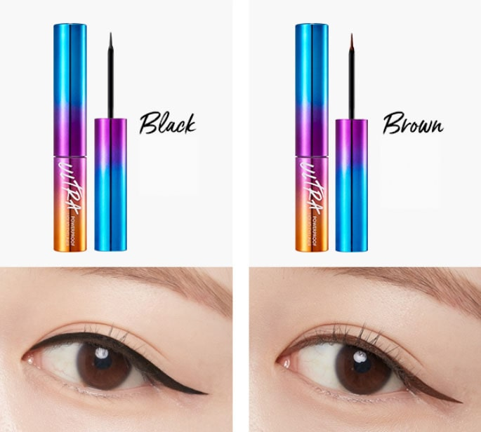 MISSHA Ultra Powerproof Liquid Eyeliner 01 Black