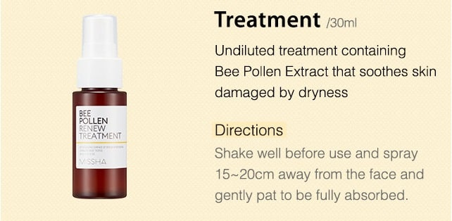MISSHA Bee Pollen Renew Treatment 150ml