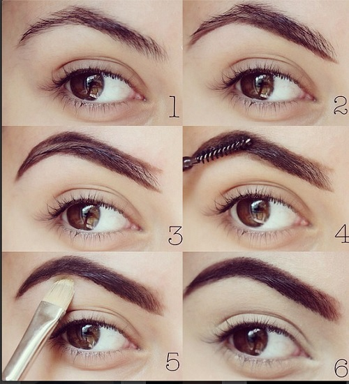 Eyebrows for Different Face Shapes