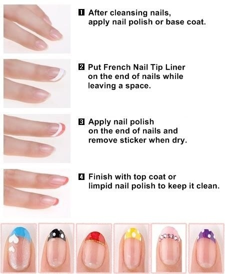 SKINFOOD French Nail Guide Liner 1ea
