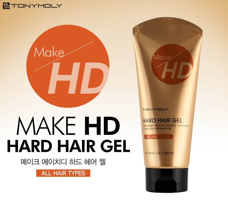 Tony Moly Make HD Hard Hair Gel 200ml