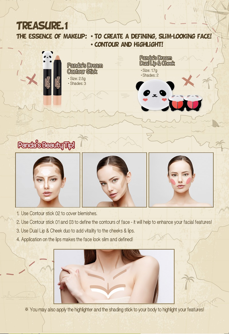 TONY MOLY Panda's Dream Contour Stick - 02 Concealer