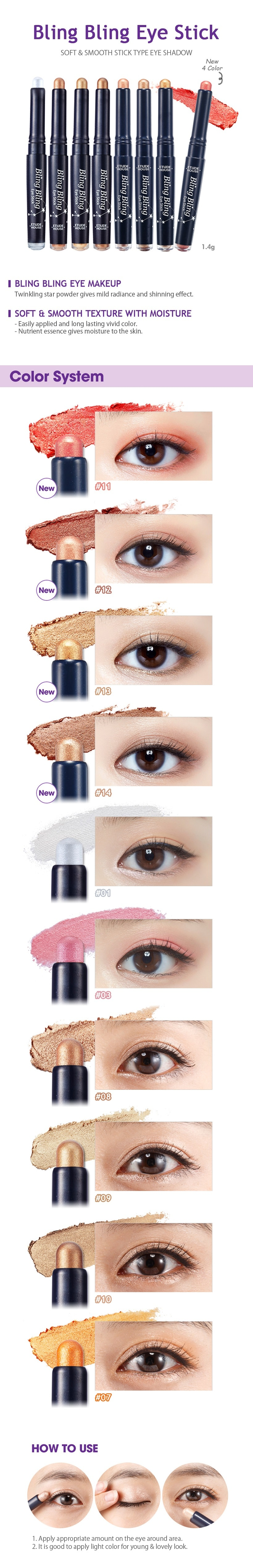 ETUDE HOUSE Bling Bling Eye Stick