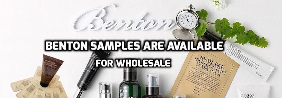 Benton Samples Are Available For Wholesale