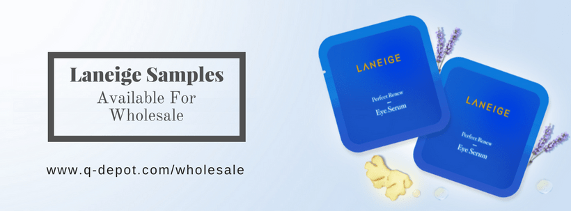 Good News! Laneige Samples Available For Wholesale