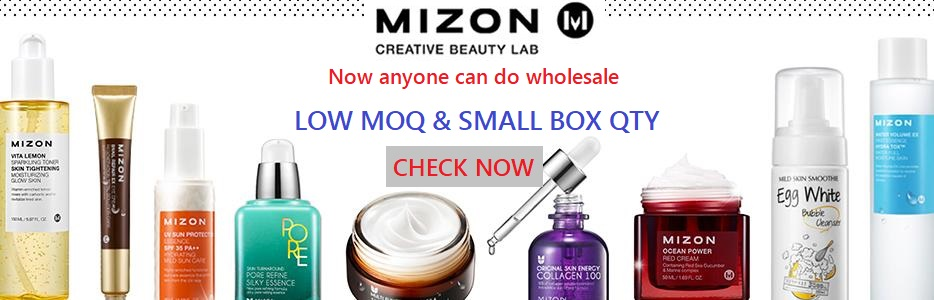 Low MOQ & Small Box Quantity For Mizon