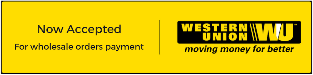Western Union Now Accepted For Wholesale Payments