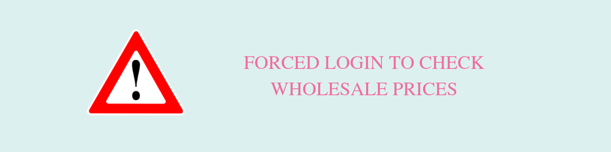 Forced Login To Check Korean Cosmetics Wholesale Prices