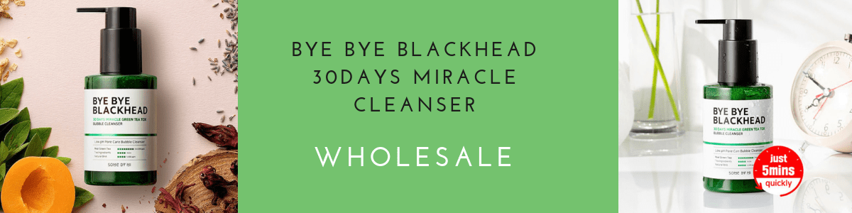 SOME BY MI Bye Bye Blackhead 30Days Miracle Green Tea Tox Bubble Cleanser For Wholesale
