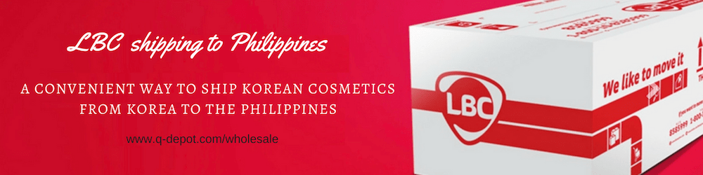 LBC Korea to Philippines, Direct Shipping With Q-depot com