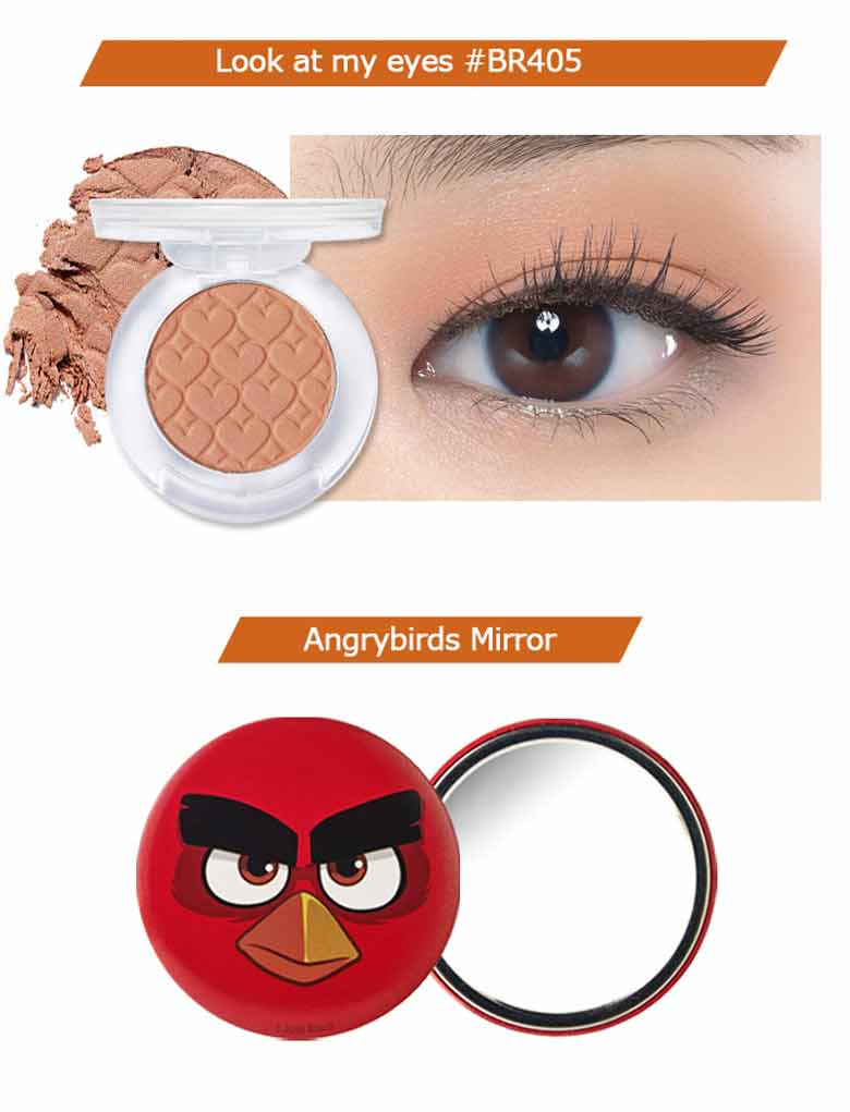 Bird eye makeup emo makeup etude house angry bird eye makeup set korean cosmetics baditri Image collections