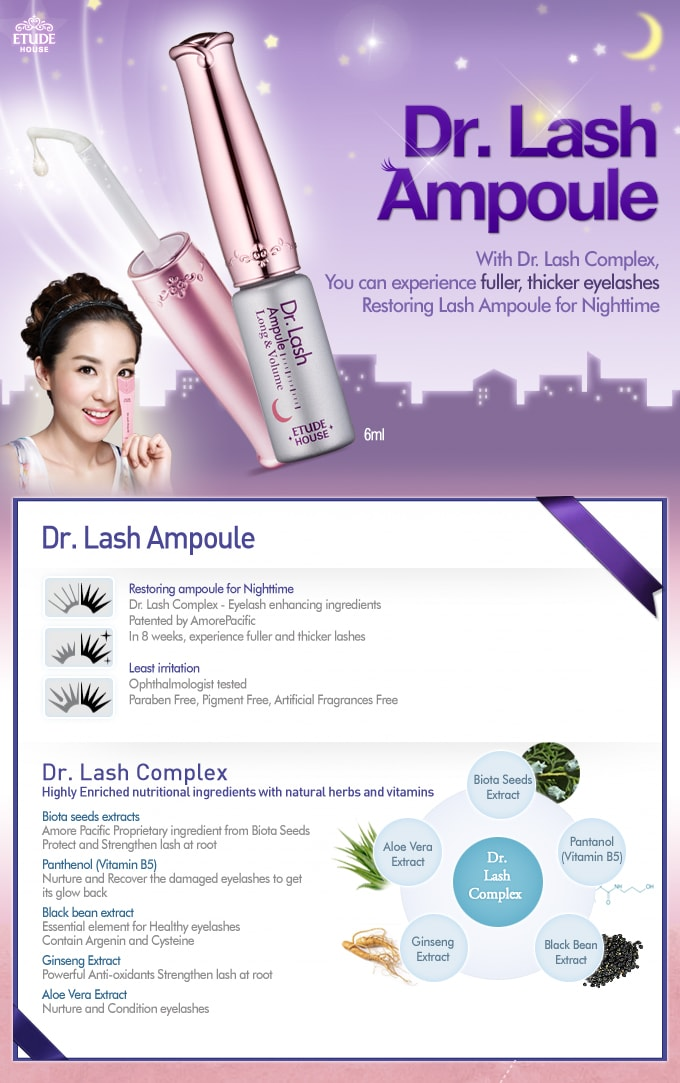 Etude House Dr.Lash Ampule Long & Volume (8ml)