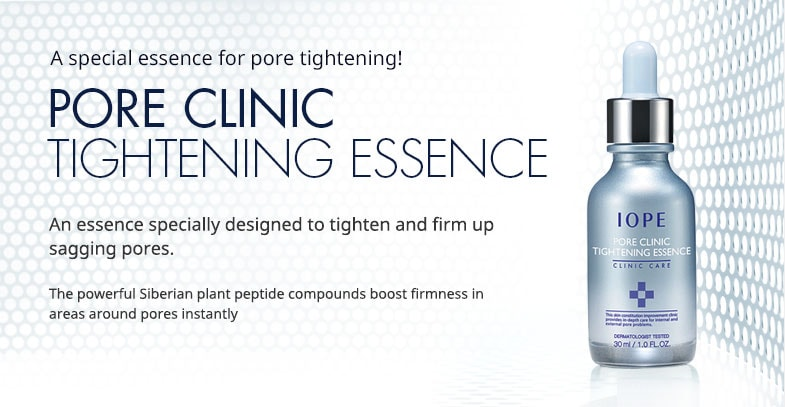 IOPE Pore Clinic Tightening Essence (30ml)