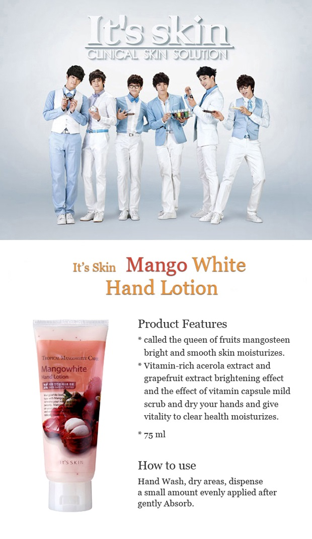 Its Skin Mangowhite Hand Lotion 75ml