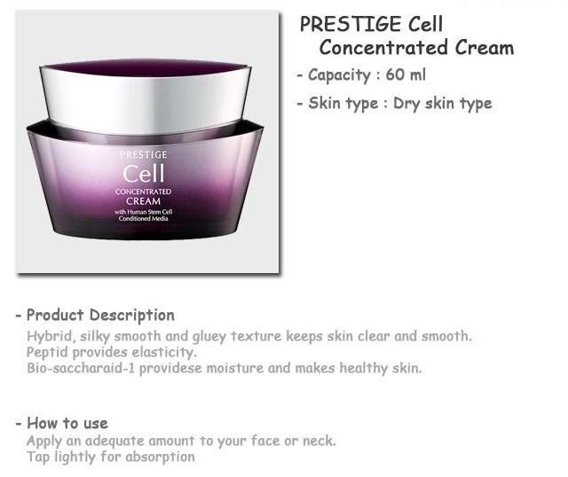 Its Skin Prestige Cell Concentrated Cream 60ml