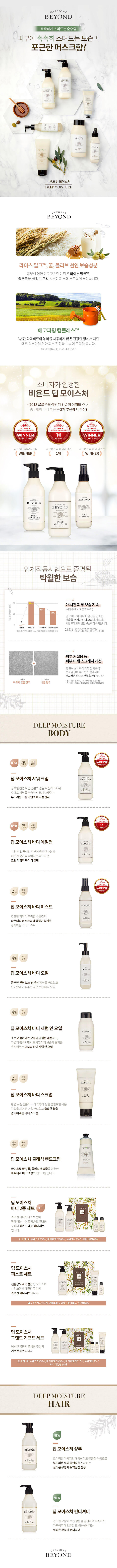 BEYOND Deep Moisture Body Emulsion 450ml