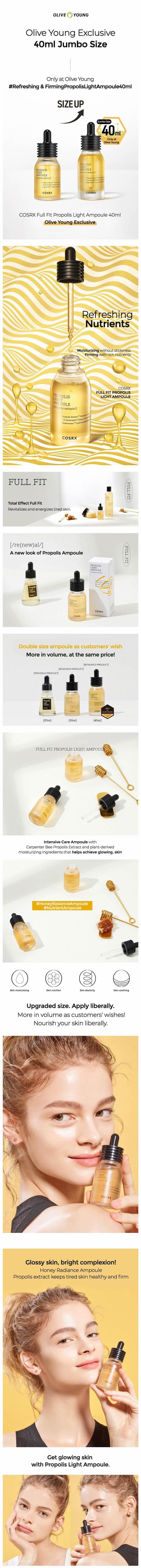 COSRX Full Fit Propolis Light Ampoule 40ml