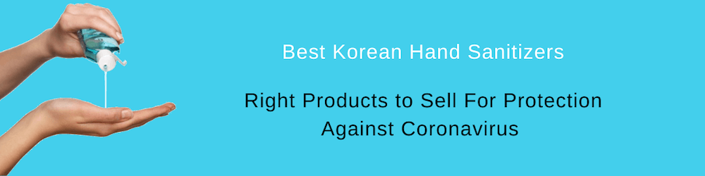 Best Korean Hand Sanitizers, Top Selling Item