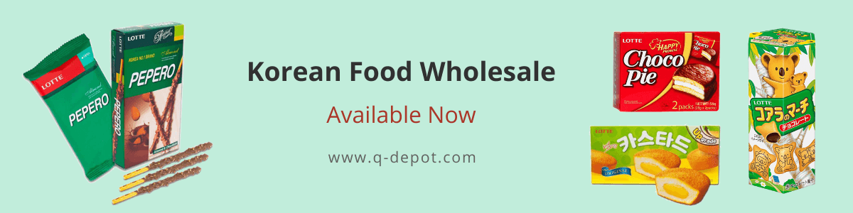 Korean Food At Wholesale Now Available