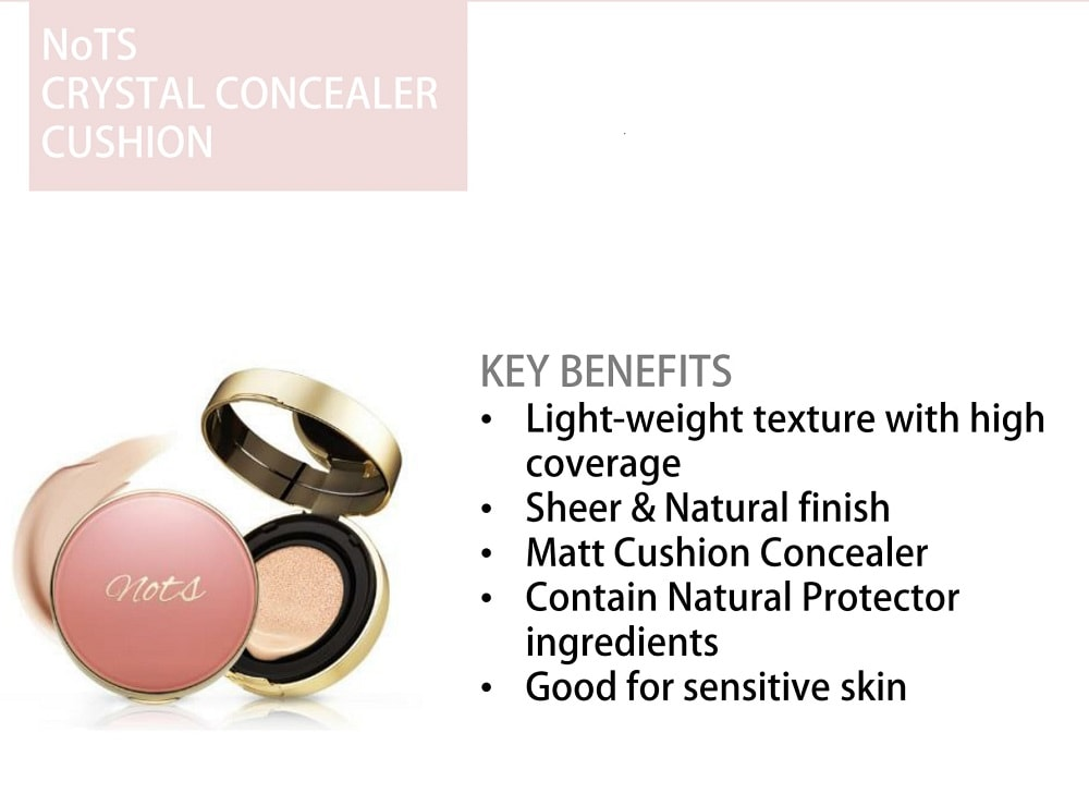 NOTS Crystal Concealer Cushion