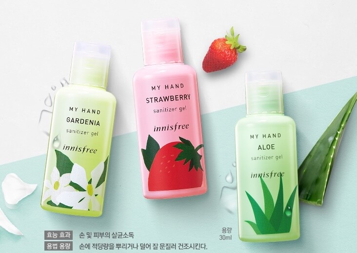 Innisfree hand sanitizer